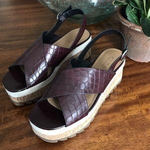 #zara platform sandals